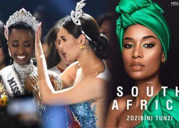 """South Africa"" คว้ามงกุฎ มิสยูนิเวิร์ส 2019"